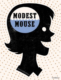 GigPosters.com - Modest Mouse by The Decoder Ring Design Concern
