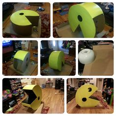 Make a Pac-Man costume for under $15!