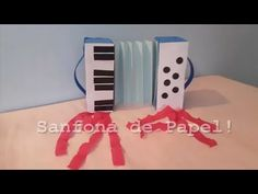 Sanfona de Papel - Enfeite Para Festa Junina - Paper crafts - YouTube Do Video, Paper Crafts, Make It Yourself, Blog, Diy, Russia, Youtube, Instagram, Hillbilly Party