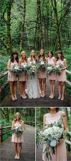 Bridesmaids and bouquet ideas