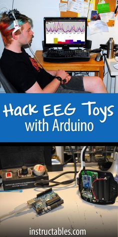 How to hack eeg toys with arduino electronics projects гадже Robotics Projects, Pi Projects, Arduino Projects, Tech Hacks, Tech Gadgets, Diy Electronics, Electronics Projects, Arduino Chip, Iphone Lockscreen Wallpaper
