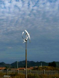 distributed wind energy: UGE, eddyGT small wind turbine