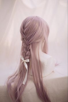 A Cute Straight Hair by DreamHolic on Etsy
