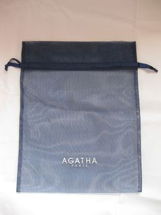 AGATHA organza jewelry bag