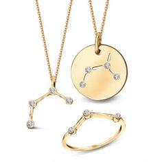 Zodiak Lew - srebrny naszyjnik