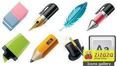 Icon set - Draw - Zizaza item for