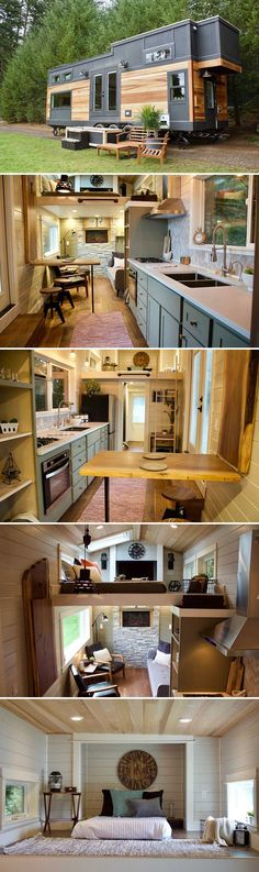 Built by Tiny Heirloom for a nature enthusiast in Washington state, the Tiny Home, Big Outdoors allowed their client to downsize and fulfill his dream of living in the great outdoors.