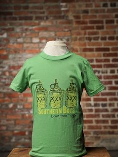 """Moonshine Drinkin """"Southern Boys Love Their Toys"""" Tshirt from Bourbon & Boots"""