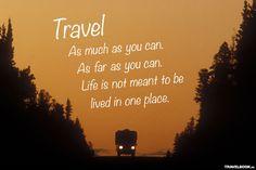 Die besten Sprüche und Zitate rund ums Reisen