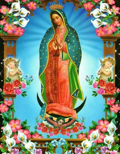 guadalupe Art Print by Aldo Couture - X-Small Virgin Mary Painting, Virgin Mary Art, Blessed Virgin Mary, Queen Of Heaven, Catholic Religion, Holy Mary, Mexican Art, Blessed Mother, Mother Mary