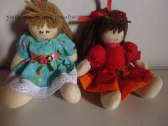 Bonequinhas de pano para você se encantar/ dolls/