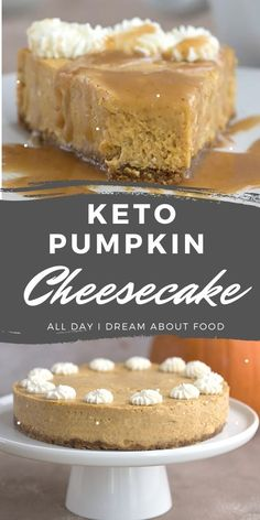 Pumpkin Cheesecake Recipes, Keto Cheesecake, Dessert Recipes, Pumpkin Cheescake, Low Carb Deserts, Low Carb Sweets, Low Carb Keto, Low Carb Recipes, Pumpkin Deserts