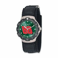 Mens Watches by Nascar Licensed. $42.00. Mens NASCAR Dale Earnhardt Jr. No. 88 agent watch.