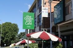 The Greenside Café in Johannesburg offers delicious vegan and vegetarian cuisine in a fun, suburban setting. The Greenside Café: well-known vegetarian eatery © Ryan James/Darling Lama Productions James Darling, Pretoria, Coffee Shops, South Africa, Restaurants, How To Memorize Things, African, Patio, In This Moment