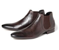 Moran Brown (£95.00) - Back by popular demand - Moran brings you a mens leather Mod boot for H. A great looking Chelsea boot in a beautifull...