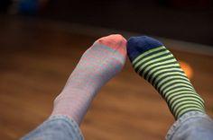 mismatched socks!
