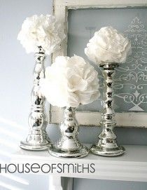 wedding , Diy Projects. Would like it better with wood candlestick holders.