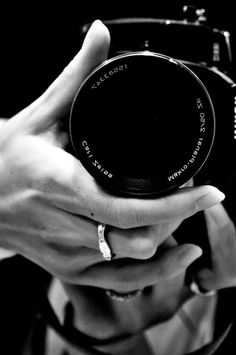 I'd rather be behind the camera then in front of it <3