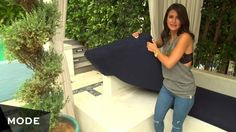 Don't just focus on dressing up the inside of your home—give your patio a makeover too. Watch interior design expert Roxy Sowlaty take a poolside patio from drab to fab.