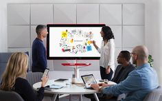 Google's Jamboard is a huge digital whiteboard for collaboration