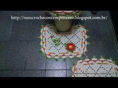Jogo de Banheiro Juh Medina, tapete do pé do vaso, 2ª parte