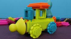 Bristle Blocks in italiano. Bristle Blocks Mega Pack 68 pezzi. Il mio nu...