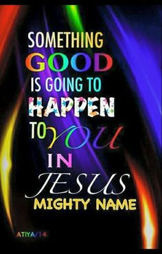 I RECEIVE IT IN JESUS MIGHTY NAME AMEN.