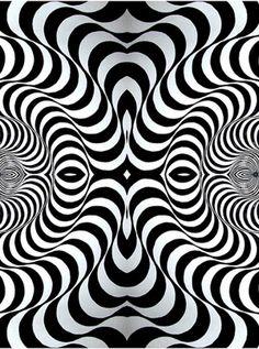 Op Art by Bridget Riley, 50 years celebrated.and along came all the op art fabric. Psychedelic Art, Bridget Riley Op Art, Opt Art, Principles Of Design, Illusion Art, Art Abstrait, Geometric Art, Geometric Patterns, White Art