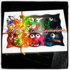 Muppet cupcakes By Sugar Everywhere