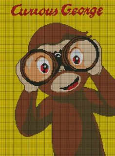 Curious George Crochet Pattern. LOVE!!!!! I have to make this for Parker!!!!