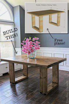 Cozy Modern Farmhouse Dining Room Remodel Ideas 16
