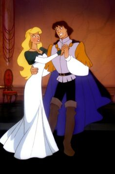 """The Swan Princess"" - Princess Odette and Prince Derek."