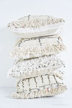 handira pillows - love the bad boys since the first time I saw them! swoon-worthy