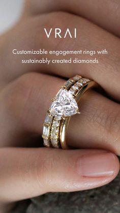 Modern Engagement Rings, Beautiful Engagement Rings, Engagement Ring Cuts, Cute Rings, Pretty Rings, Cute Jewelry, Beaded Jewelry, Diamond Rings, Diamond Cuts