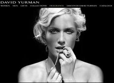 One of the most stunning pictures ever of model/actress Amber Valetta showcasing David Yurman jewelry.