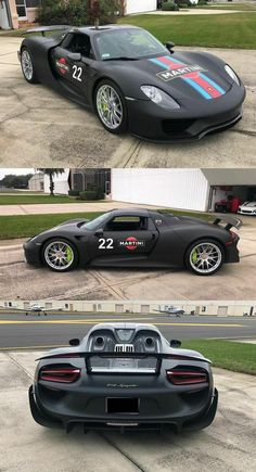 2015 Porsche 918 Spyder Weissach Package Roadster 2900 Miles Black for sale Martini Racing, Porsche 918, Car Tuning, Cars For Sale, 2d, Convertible, Exotic, Packaging, Trucks