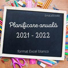 Am periat putin tabelul cu planificare anuala 2021 – 2022. E un tabel in Excel, are mai multe foi pentru discipline, si un format de orar. Va povestesc mai jos de ce folosesc in fiecare an acest tip de planificare si la ce ma ajuta. Salvati in calculatorul vostru formatul de AICI. Planificare anuala 2021 – 2022 in Excel Daca cititi de ani de zile blogul meu, stiti de ce e in Excel. Va usureaza munca, enorm de mult va ajuta. Nu mai tine replica: Eu nu stiu sa lucrez in Excel. Deschide Printable Worksheets, Teaching Resources, Letter Board, Calendar, Lettering, School, Blog, White People, Calculus