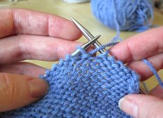 """You know you're working a short row when your knitting instructions tell you to """"turn,"""" but what exactly does that mean? Visit the Craftsy blog post to get step-by-step instructions on how to """"wrap and turn,"""" and see how to master this common technique! Click: http://www.craftsy.com/ext/20130309_14_Knitting_1b"""