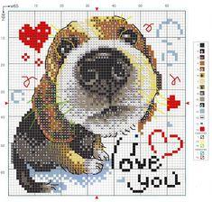 The perfect angler Puppy Husky Dog Cross Stitch Pattern Embroidery  pattern chart Counted cross stitch pattern PDF