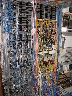 data center wall of shame wiring disasters pinterest tech rh pinterest com data center wiring single phase data center wiring diagram