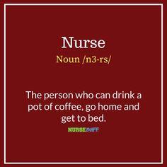 7 Funny Nursing Definitions That Should Be In The Dictionary #nursebuff #nursing #nurses