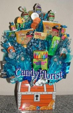 JAKE and the Neverland PIRATES Candy Bouquet by CandyFlorist