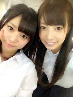 乃木坂46 (nogizaka46) Ito Nene (伊藤 寧々) and Saito Yuuri (斉藤 優里) who become prettier lately >< ♥ ♥