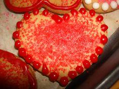 Valentine baking