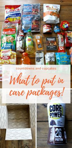 What To Put In A Care Package As Answered By My Husband
