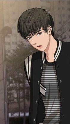 Anime Cupples, Anime Guys, Anime Art, Angel Wallpaper, Dark Wallpaper, Suho, Webtoon Korean, Boy Paradise, Webtoon Comics