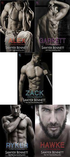 Românticos e Eróticos  Book: Sawyer Bennett - Cold Fury Hockey #1 e #2