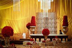 Pakistani Wedding Hall Decor!