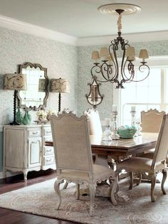French Country Dining Room Ideas dining room updates | tabletop, dark and fabrics