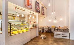 Naspolya Nassolda - raw desserts - Káldy Gyula u. Budapest Restaurant, Raw Desserts, Restaurants, Loft, Bed, Furniture, Home Decor, Decoration Home, Stream Bed